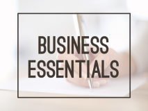 Certification: Business Essentials