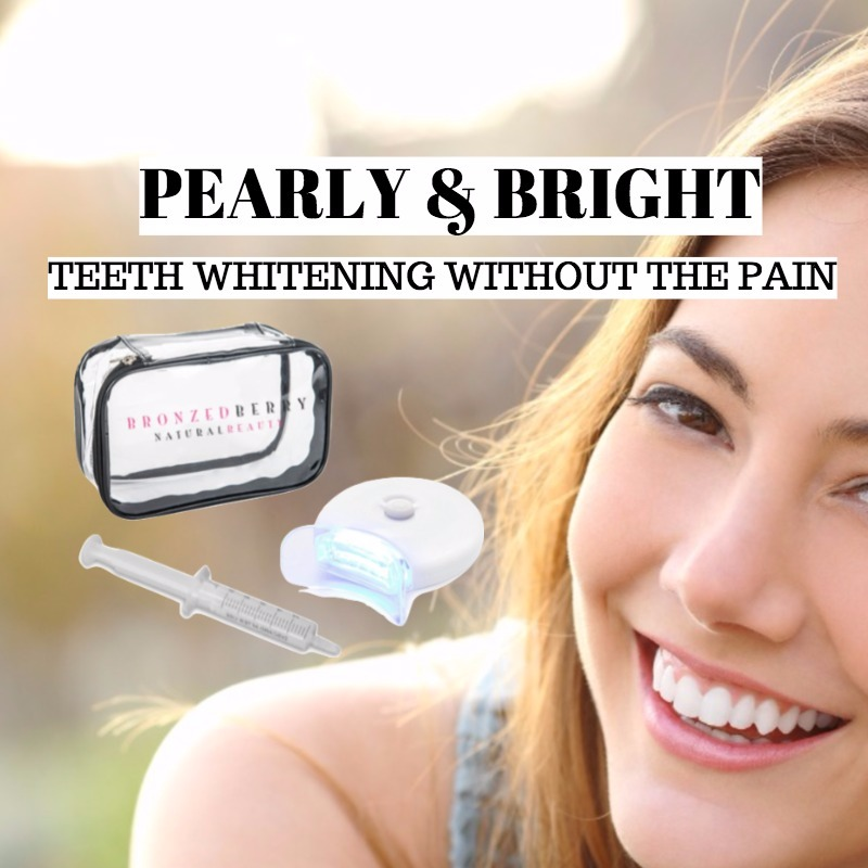 teeth whitening with bronzedberry
